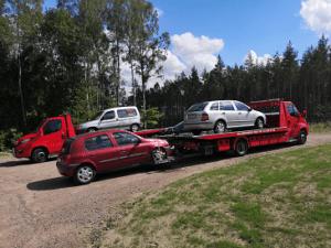 Hämtning av bil för skrotning